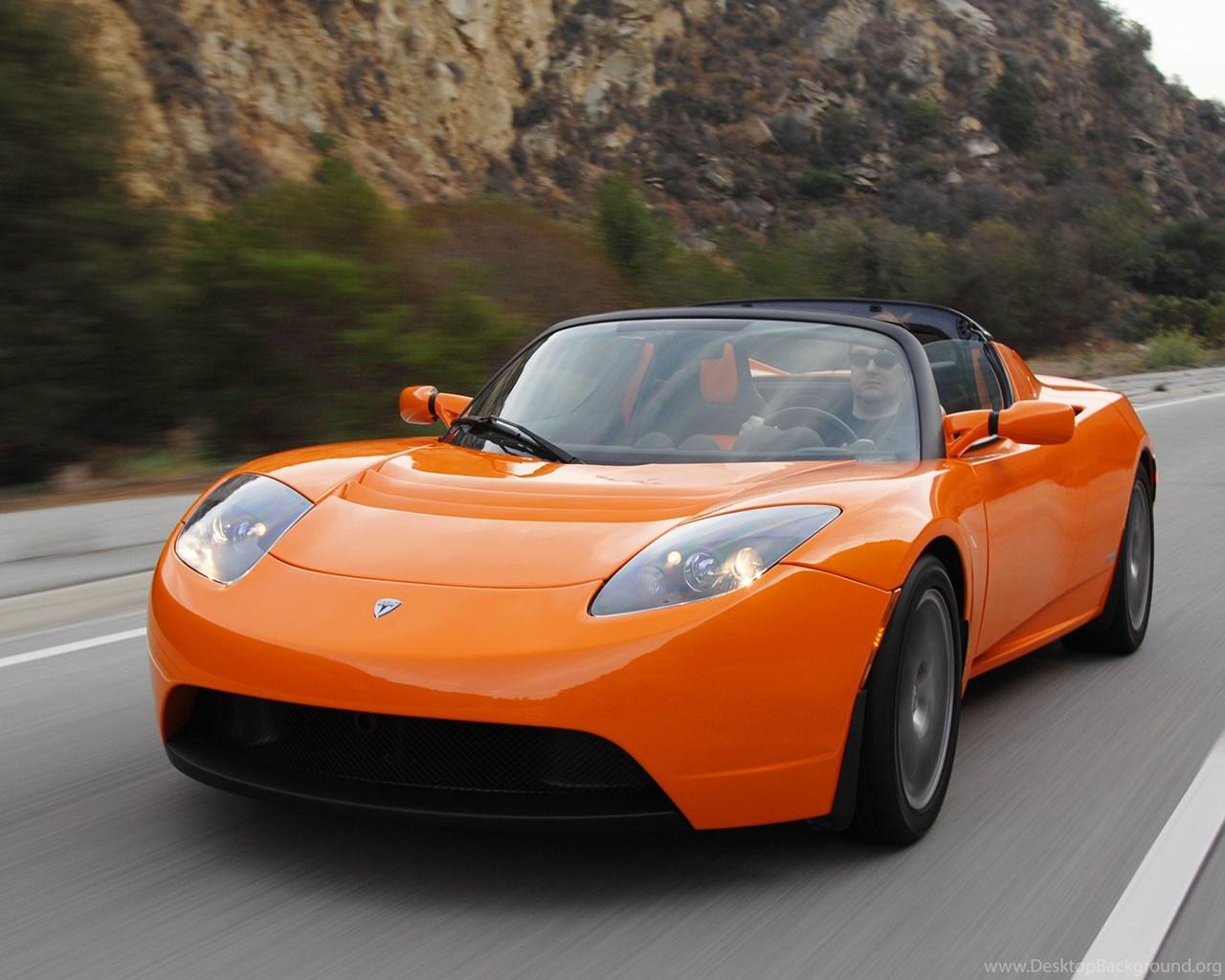 Tesla Roadster Wallpapers Wallpaper Desktop Background