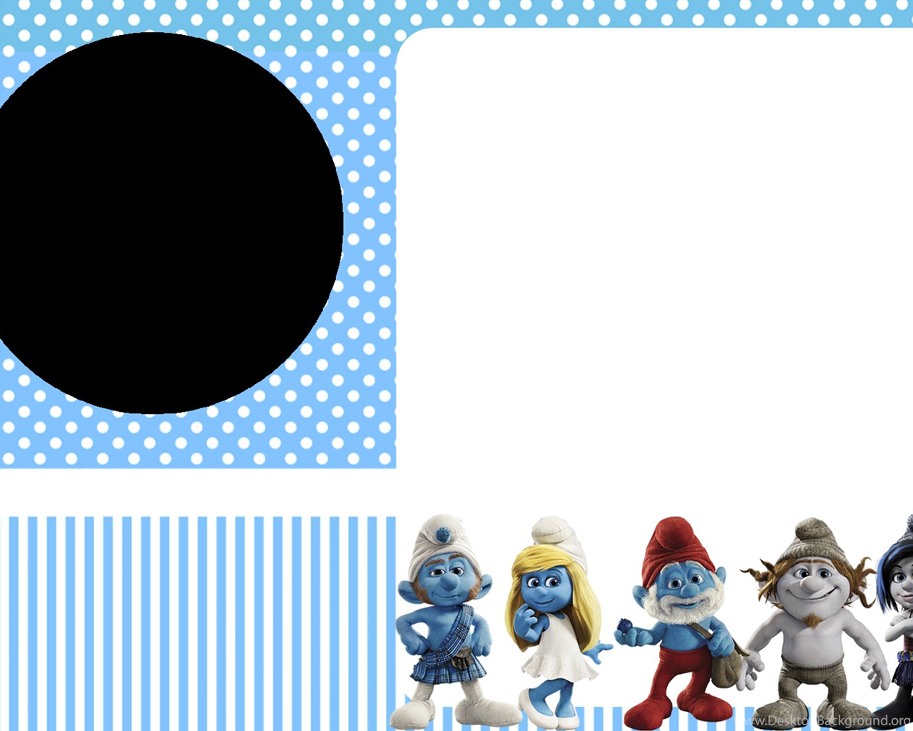 Smurfs: Invitations And Party Free Printables, For Boys Party ...