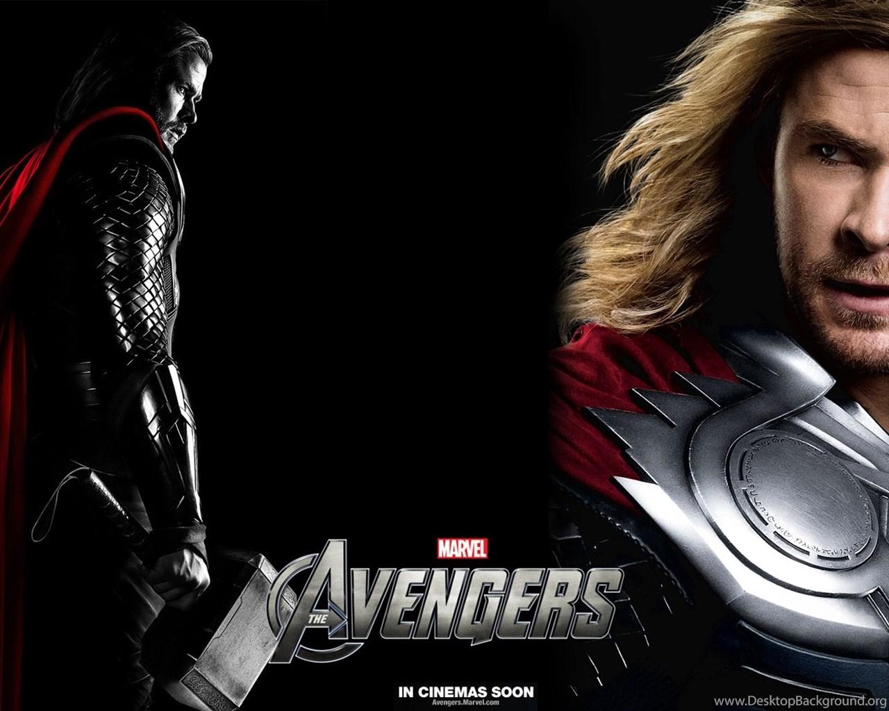 The Avengers Thor Wallpaper Hd Jpg Desktop Background