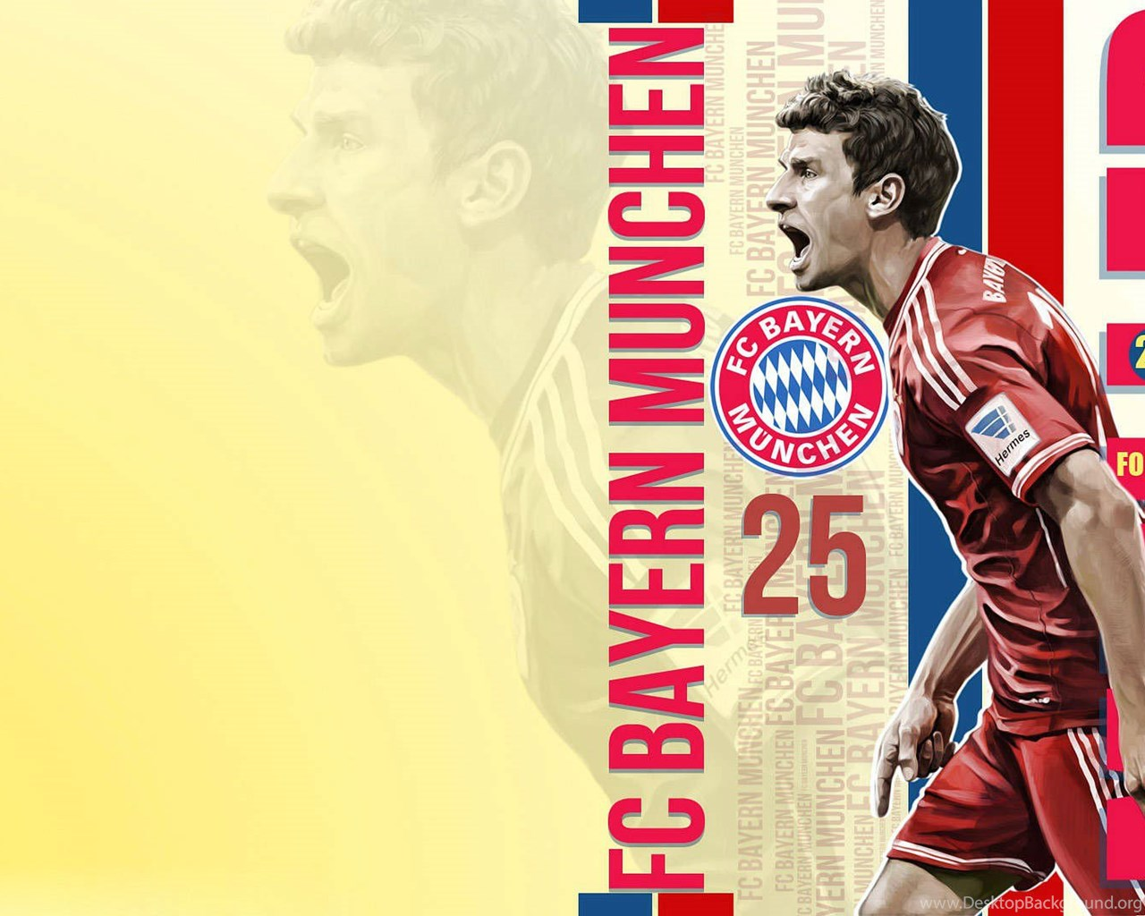 Thomas Muller FC Bayern Munich HD Wallpapers Desktop Background