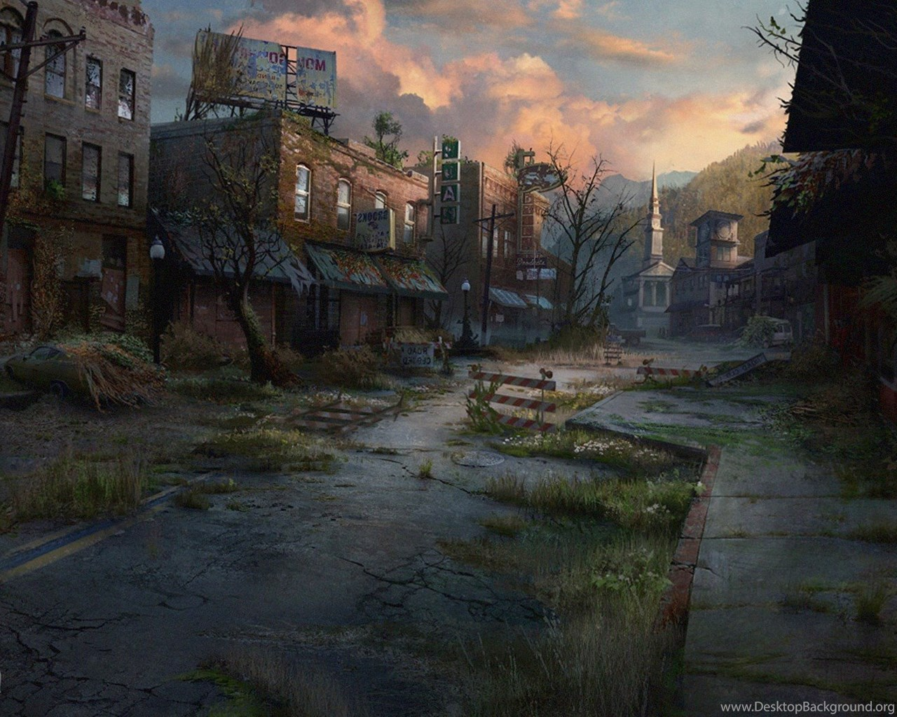 The Last Of Us Concept Art Video Games Wallpapers Hd Desktop