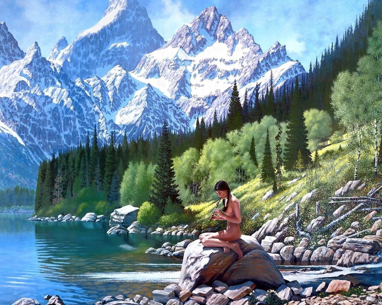 3d Nature Wallpapers For Desktop: Nature Wallpaper: 3d Nature High Resolution Wallpapers