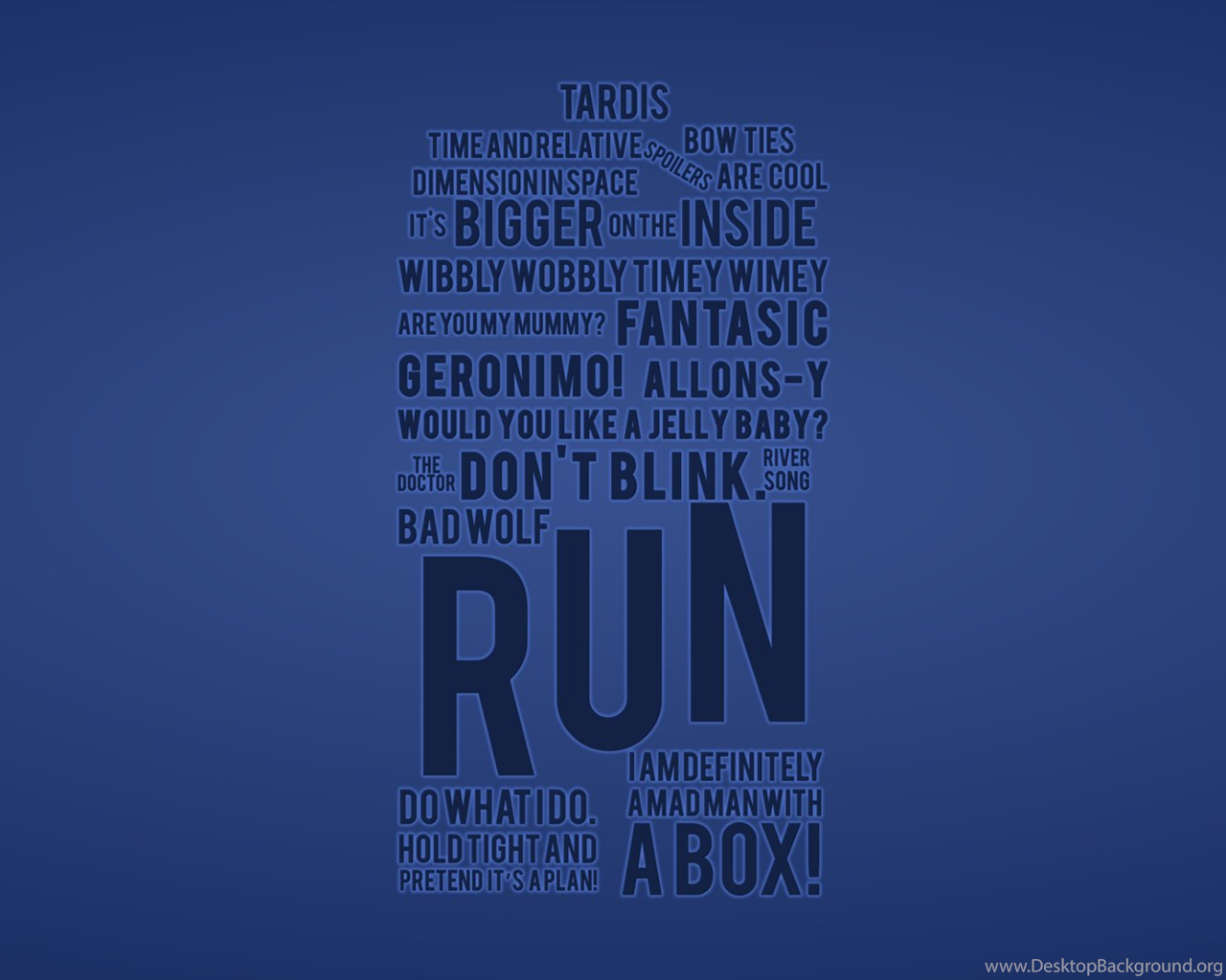 Doctor Who Quotes Wallpaper. QuotesGram Desktop Background