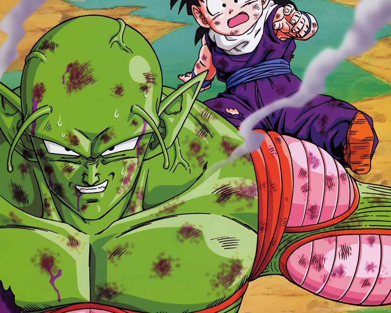 Son Gohan Piccolo Dragon Ball Z Wallpapers Desktop Background