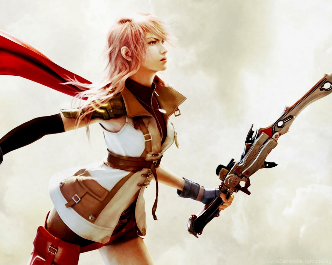 Lightning Final Fantasy Xiii Wallpapers For Widescreen Desktop Pc