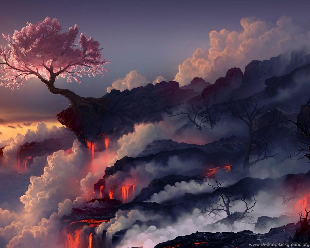 Volcano Wallpapers, Free Desktop Backgrounds Wallpapers
