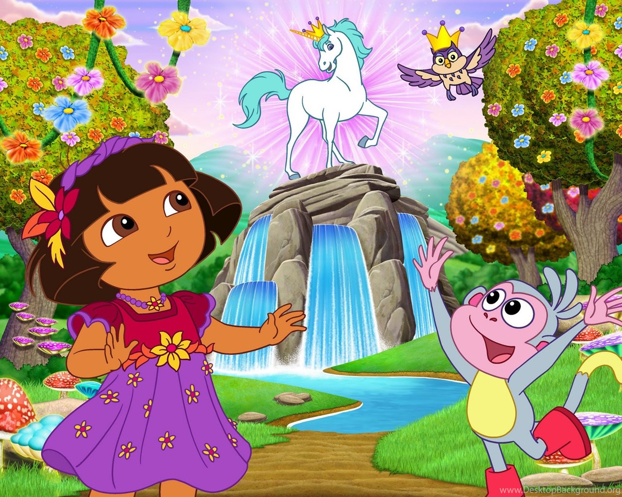Dora The Explorer Wallpapers Hd Free Desktop Background