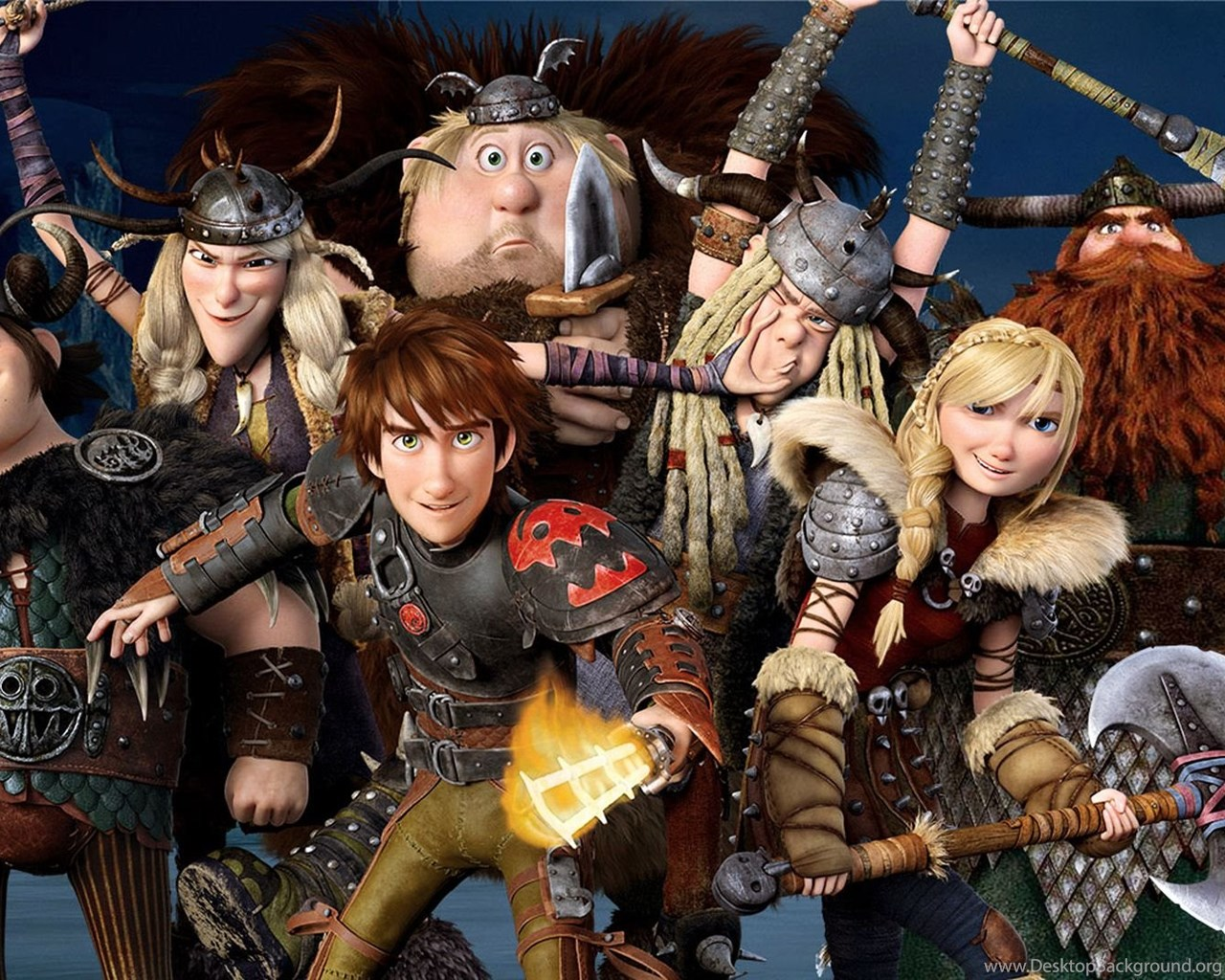 How To Train Your Dragon Wallpapers Desktop Background
