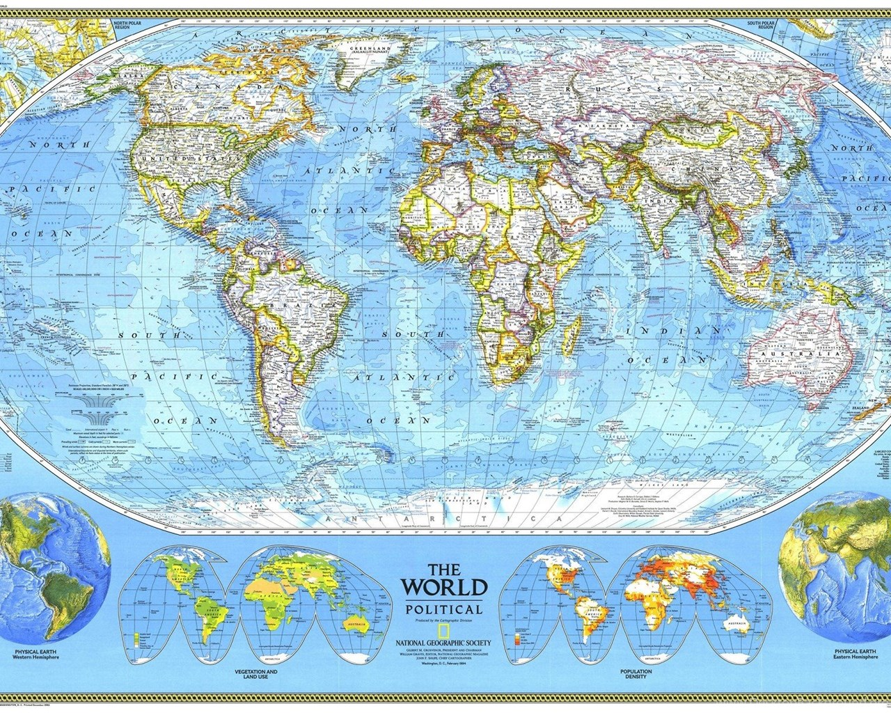 National geographic world map 1920x1200 hd wallpapers and free widescreen gumiabroncs Image collections