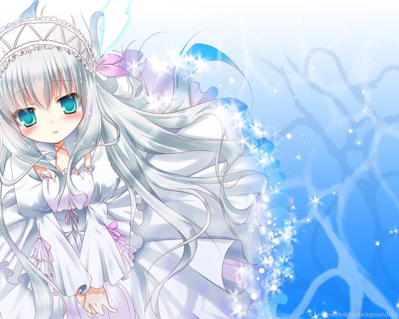 Download Wallpapers 2560x1440 Anime, Girl, Cute
