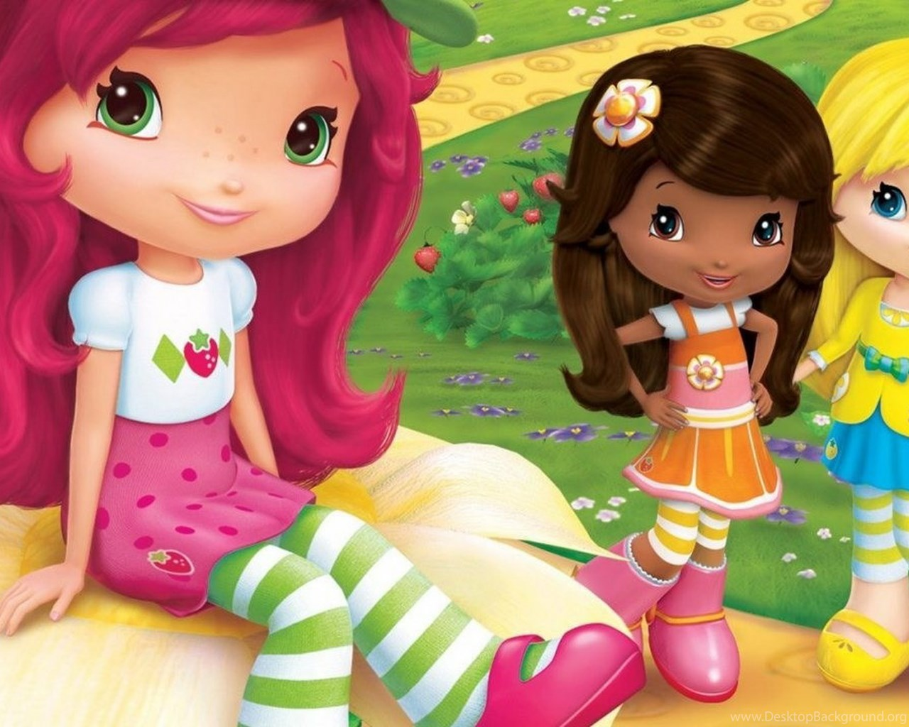 strawberry shortcake wallpapers desktop background