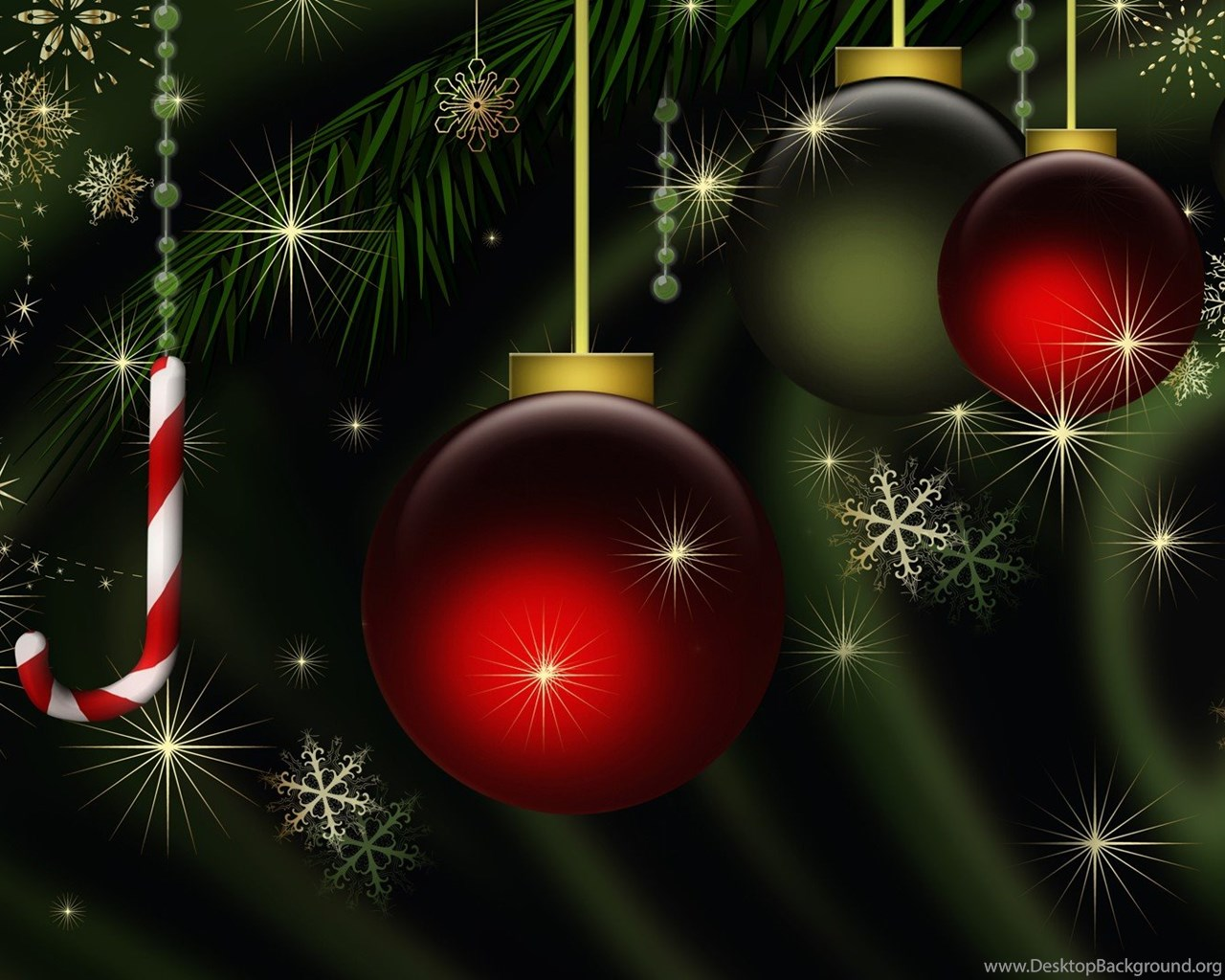 Dark Green Christmas, 1920x1080 HD Wallpapers And FREE ...