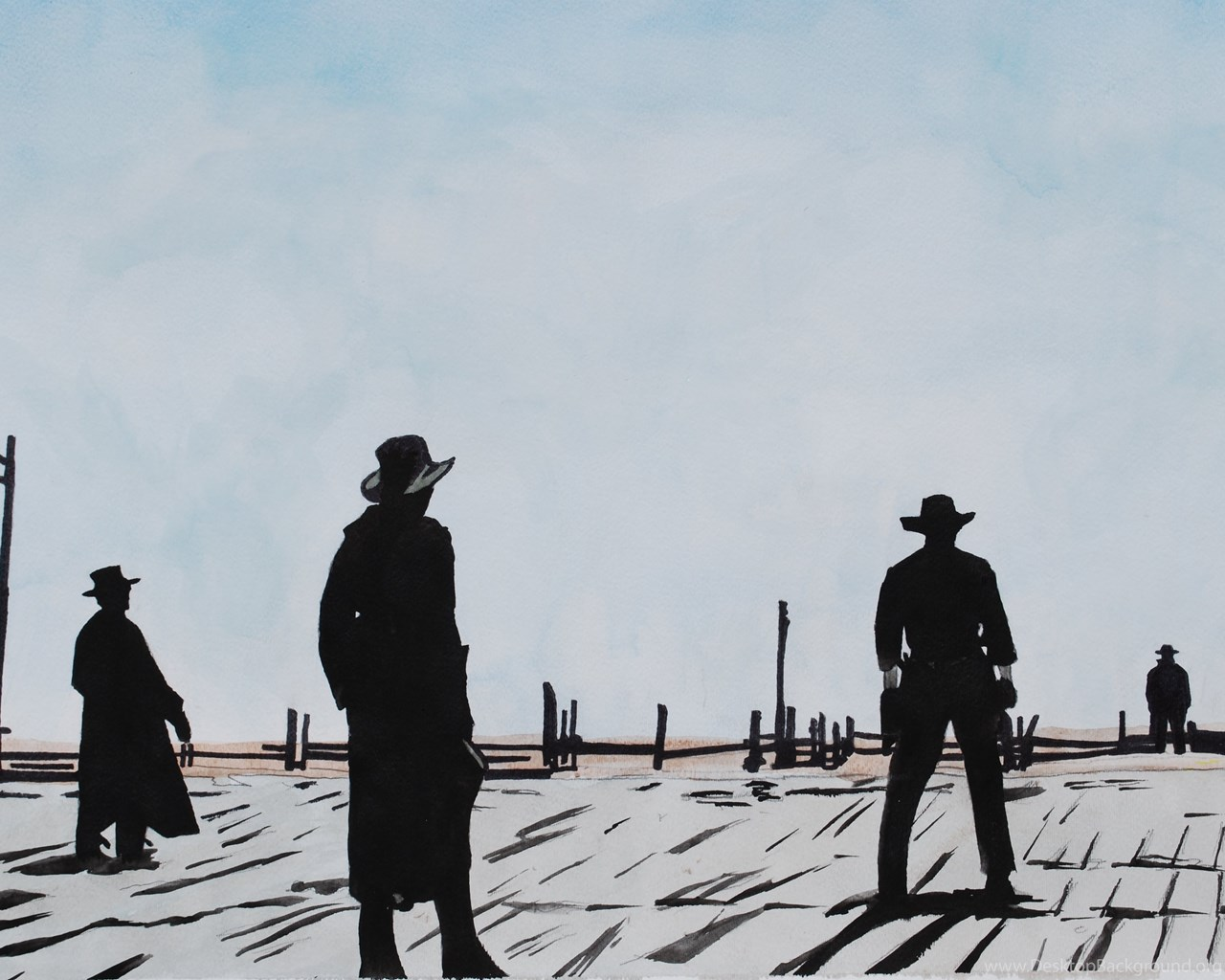 3 Once Upon A Time In The West Hd Wallpapers Desktop Background