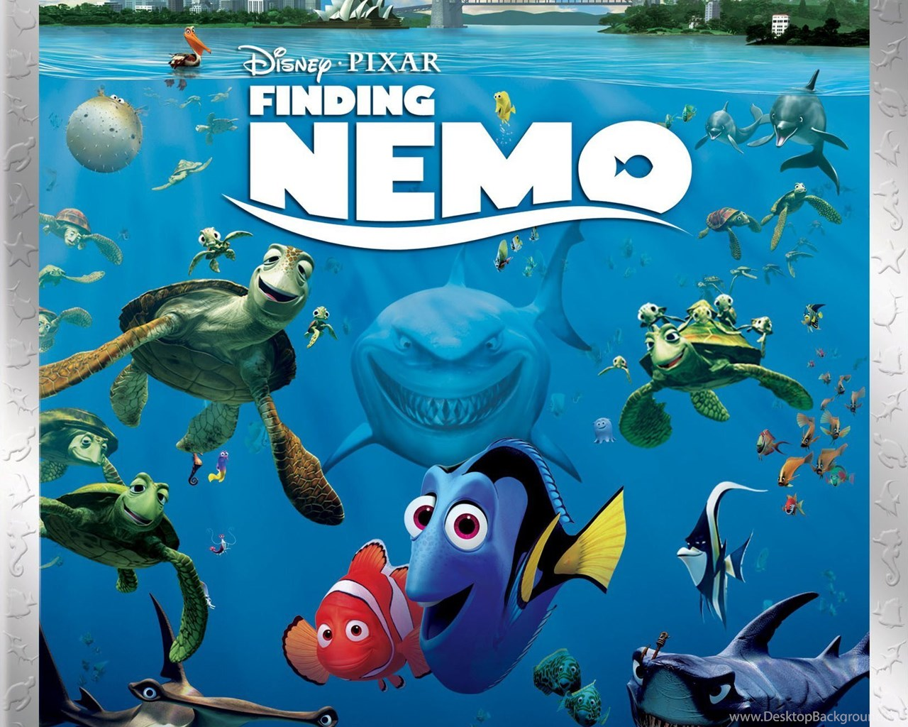 Finding Nemo Full HD Image Wallpapers For IPhone 6