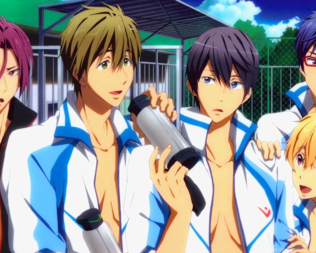 Free Iwatobi Swim Club Anime A87 Hd Wallpapers Desktop Background