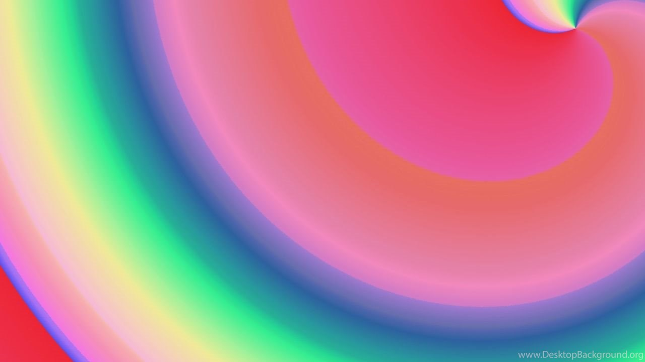 Free Left Rainbow Backgrounds For Powerpoint Colors Ppt Templates
