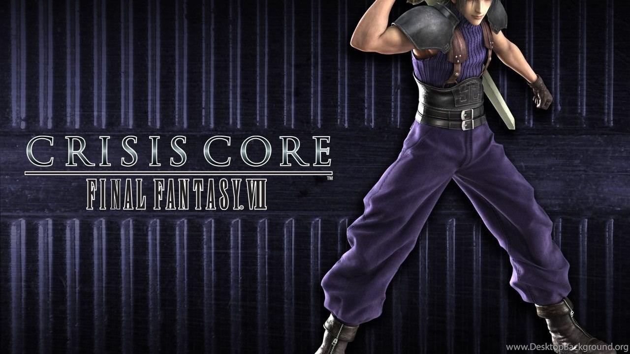 Wallpapers Final Fantasy Final Fantasy Vii Crisis Core Games