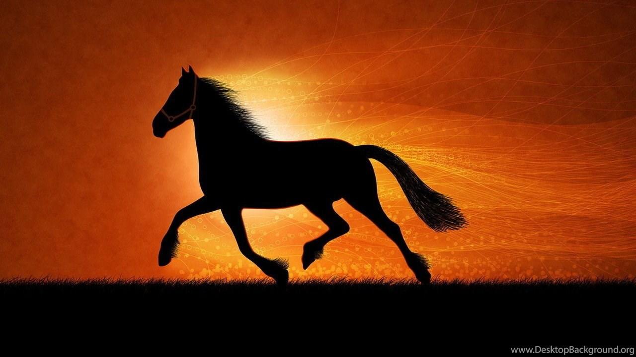 Desktop Wallpapers Gallery Windows 7 Running Horses Desktop
