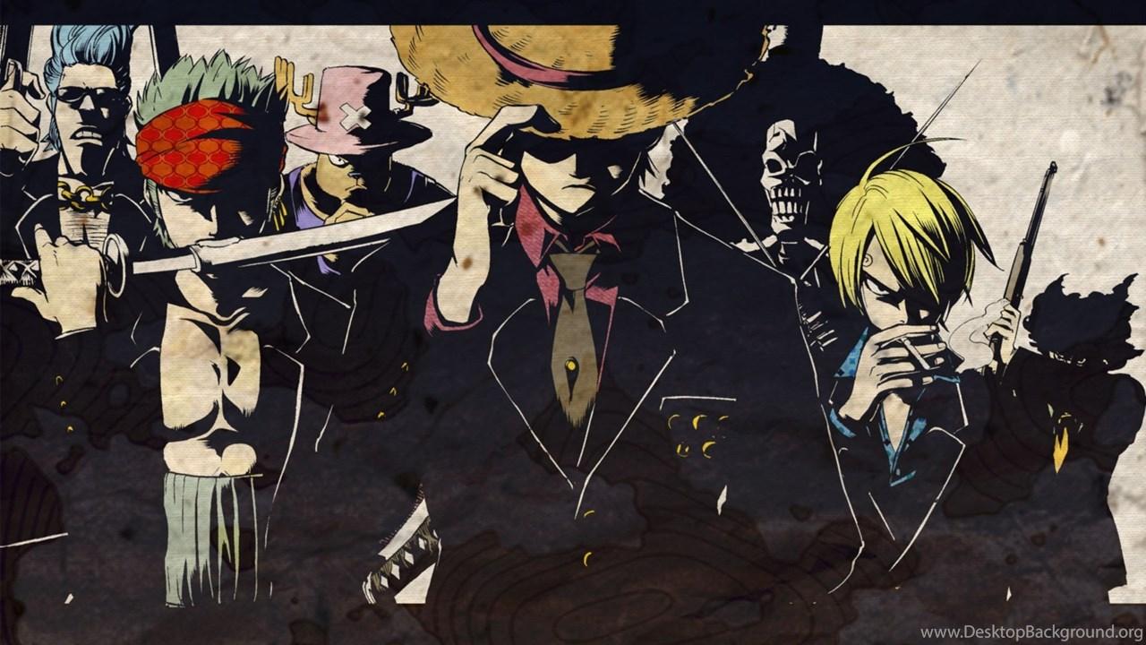 One Piece Wallpapers 1920x1200 One Luffy Zoro Sanji Chopper Desktop Background