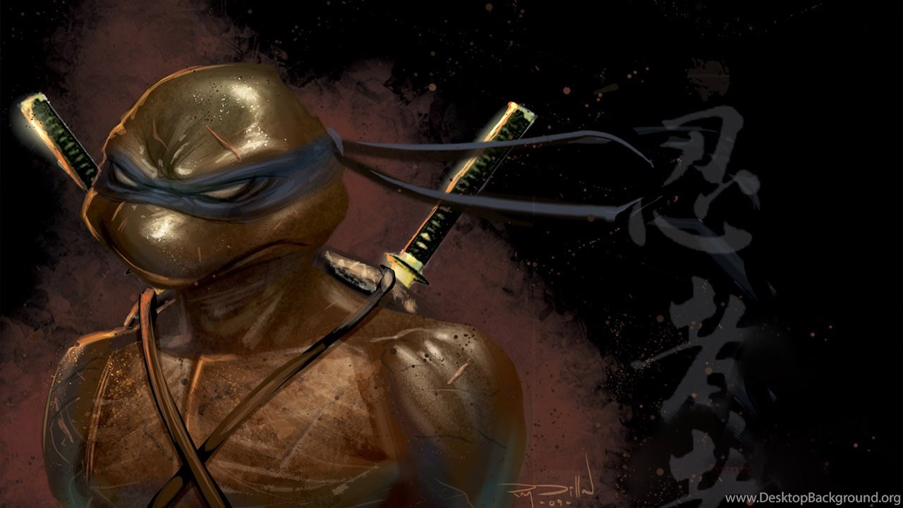 Leonardo Ninja Turtles Wallpapers Desktop Background