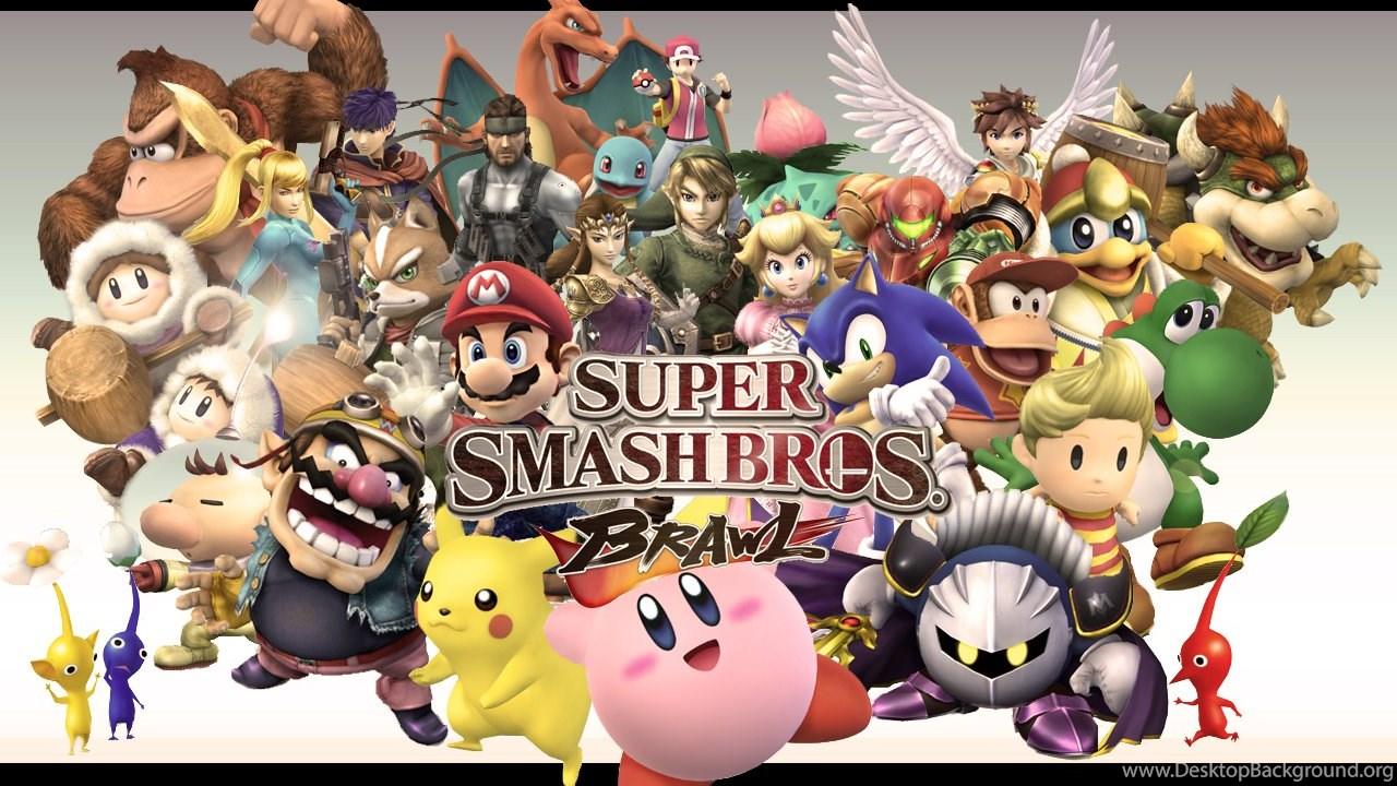 145 Super Smash Bros Hd Wallpapers Desktop Background