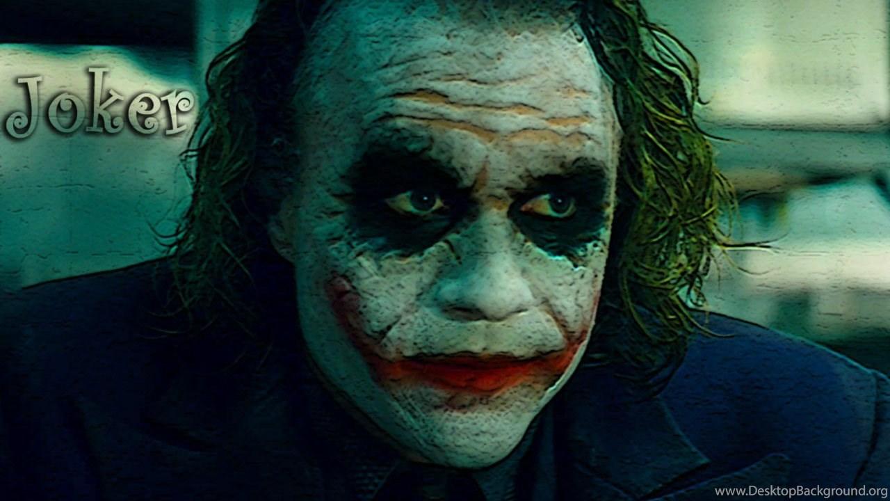 Wallpapers The Joker Mac Heath Ledger Dark Knight Movie Hd