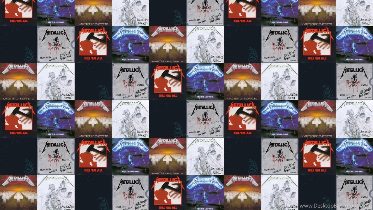 Metallica Kill Em All Ride Lightning Master Puppets Wallpapers