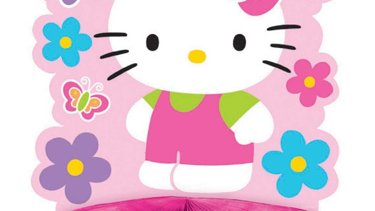 Gambar Pink Hello Kitty ClipArt Best Desktop Background