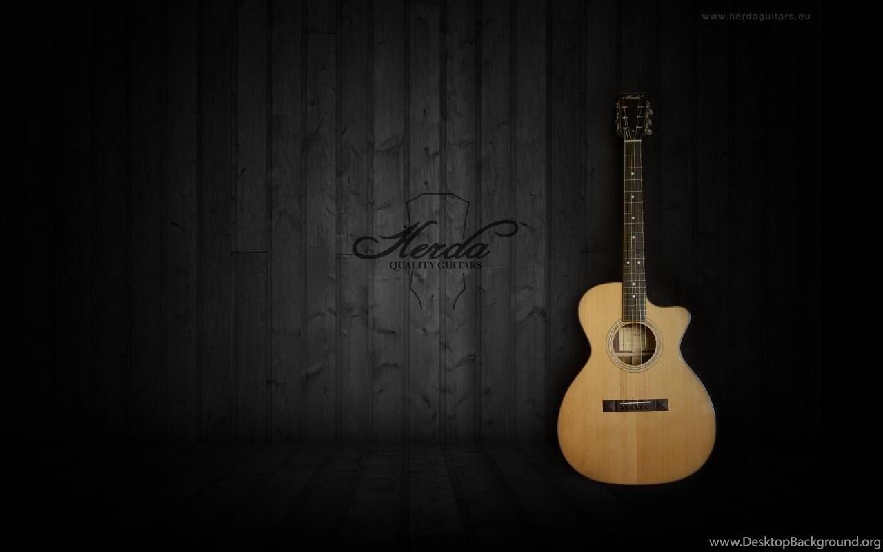 Black And Brown Acoustic Guitars Wallpaper Guitar Acoustic Wallpapers Hd Desktop 203 Wallpaper Download Beautiful Jpg Desktop Background
