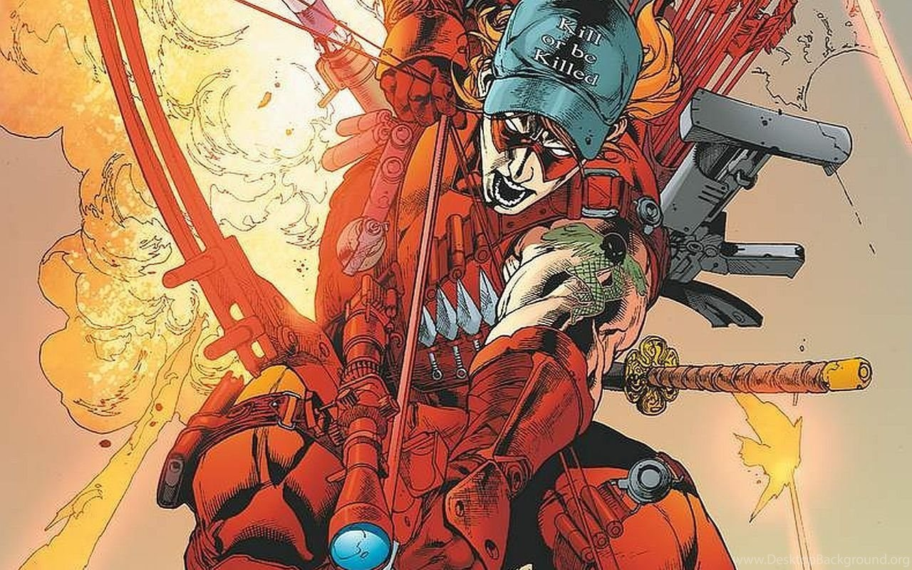 Red Hood The Outlaws Computer Wallpapers Desktop Backgrounds