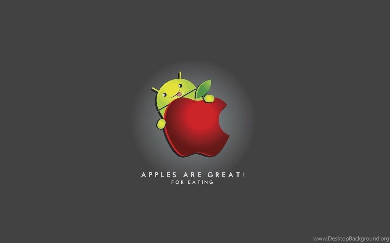 Apple Android Apple Logo Funny Free Wallpapers For Hd 16 9 High