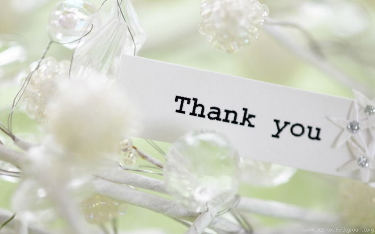 Thank You Desktop Free Hd Wallpapers Background