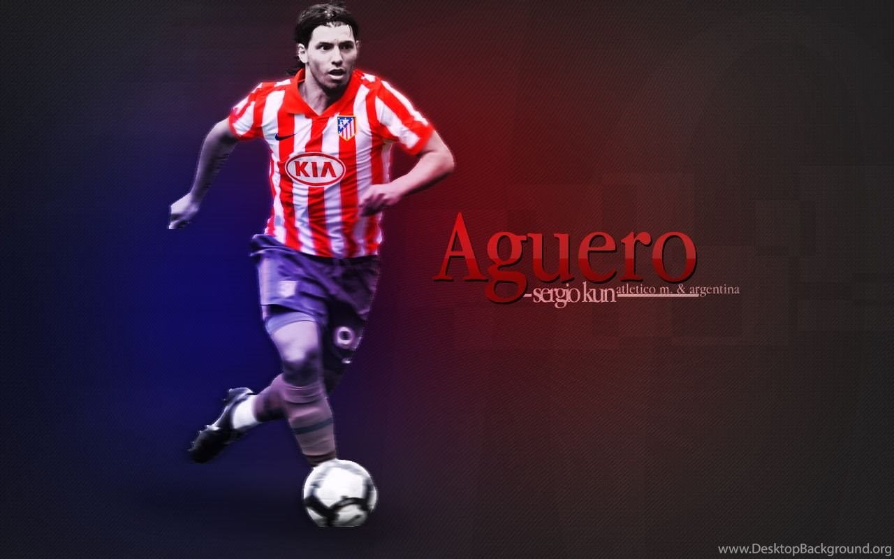 Sergio Aguero Wallpapers By Vucko61 On Deviantart Desktop Background