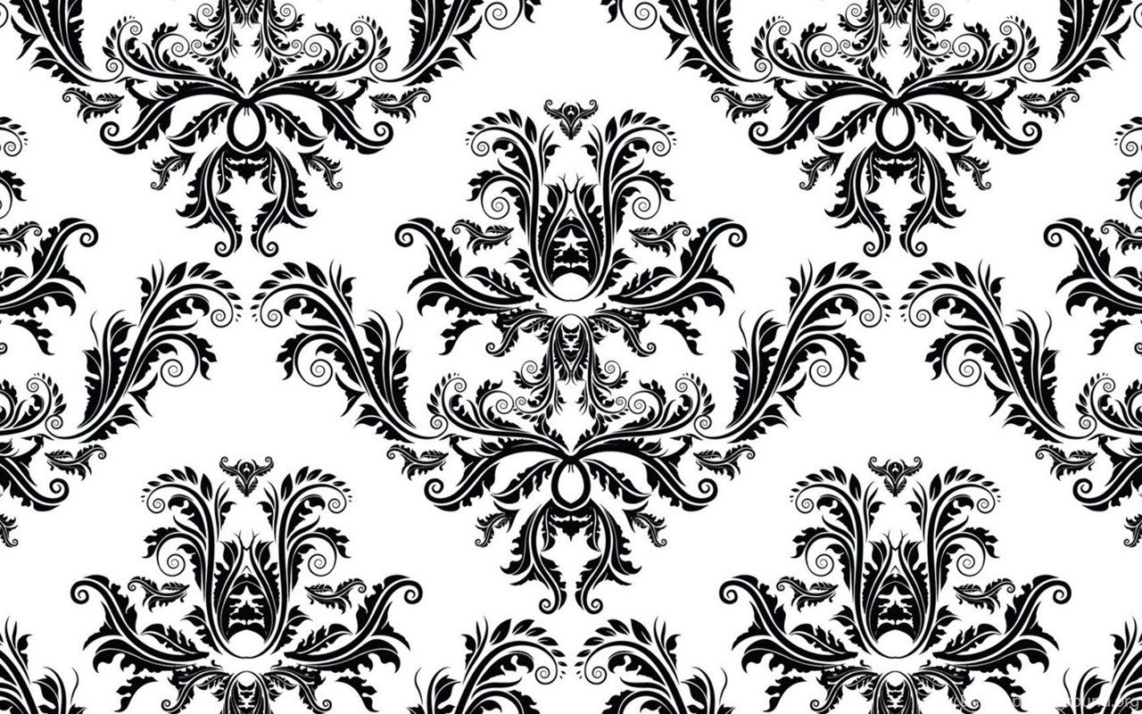 Wallpaper Pattern Vintage Black And White Black And White Vintage
