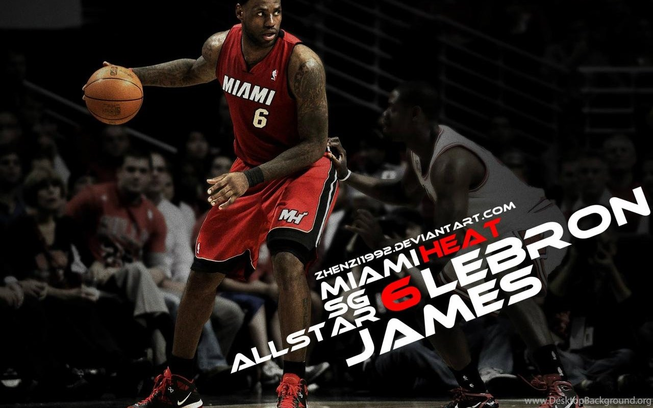 Lebron James Miami Heat Wallpapers Desktop Background