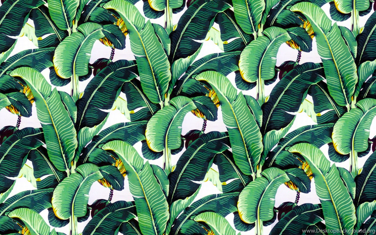 Banana Leaf Wallpapers Design 'Martinique' For The Beverly ...
