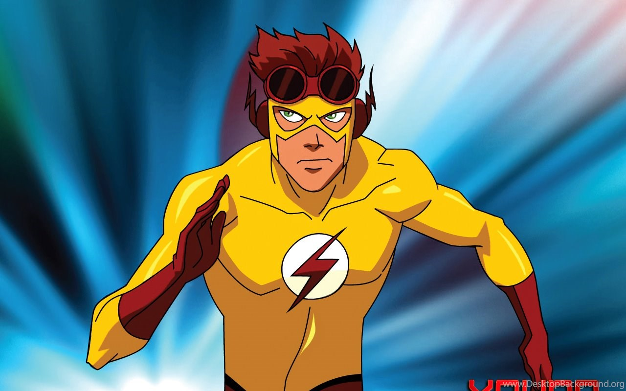 KidFlash Teen Titans Vs Young Justice Wallpapers 31080893 Fanpop