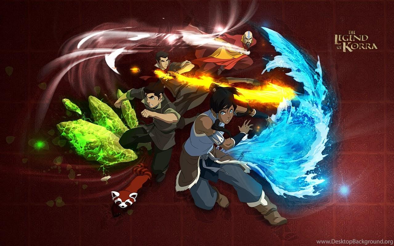 Avatar The Legend Of Korra Characters Wallpapers Hd Desktop Background