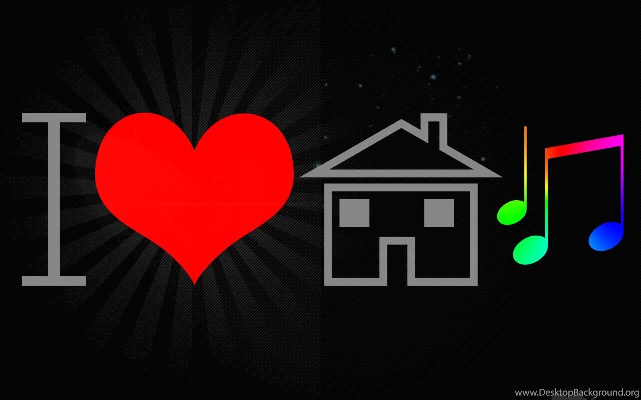 I Love House Music Wallpapers Cave Desktop Background