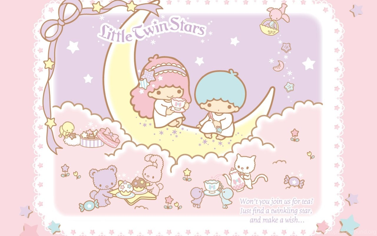 661714 wallpapers little twin star liitle stars sanrio pastels