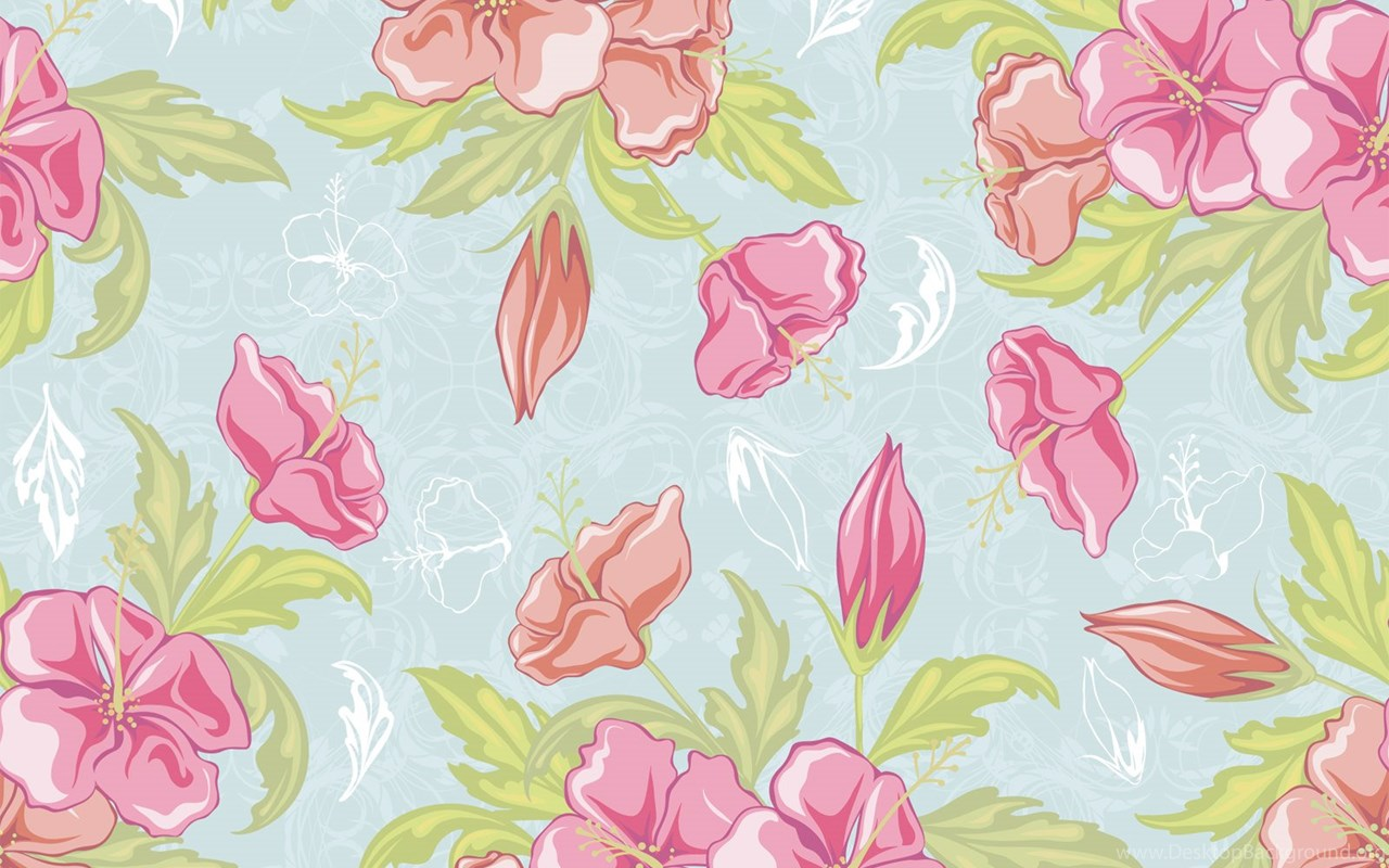 Download 15 Free Floral Vintage Wallpapers Desktop Background