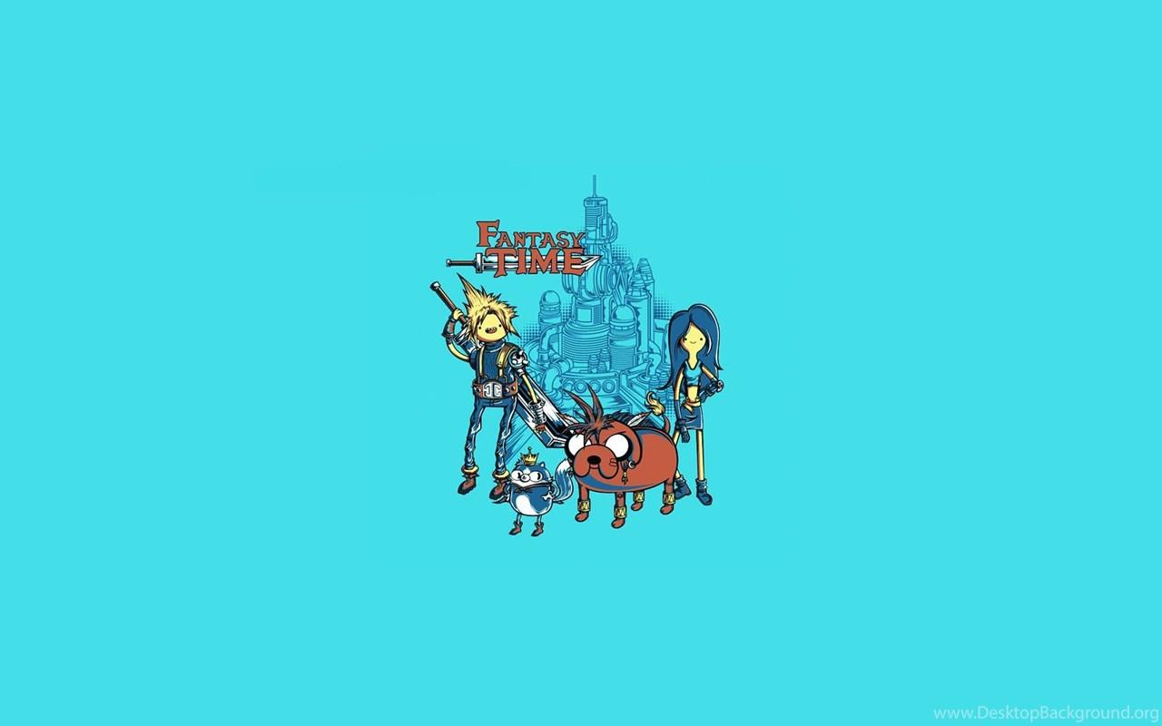 Adventure time blue final fantasy wallpapers desktop background widescreen voltagebd Choice Image