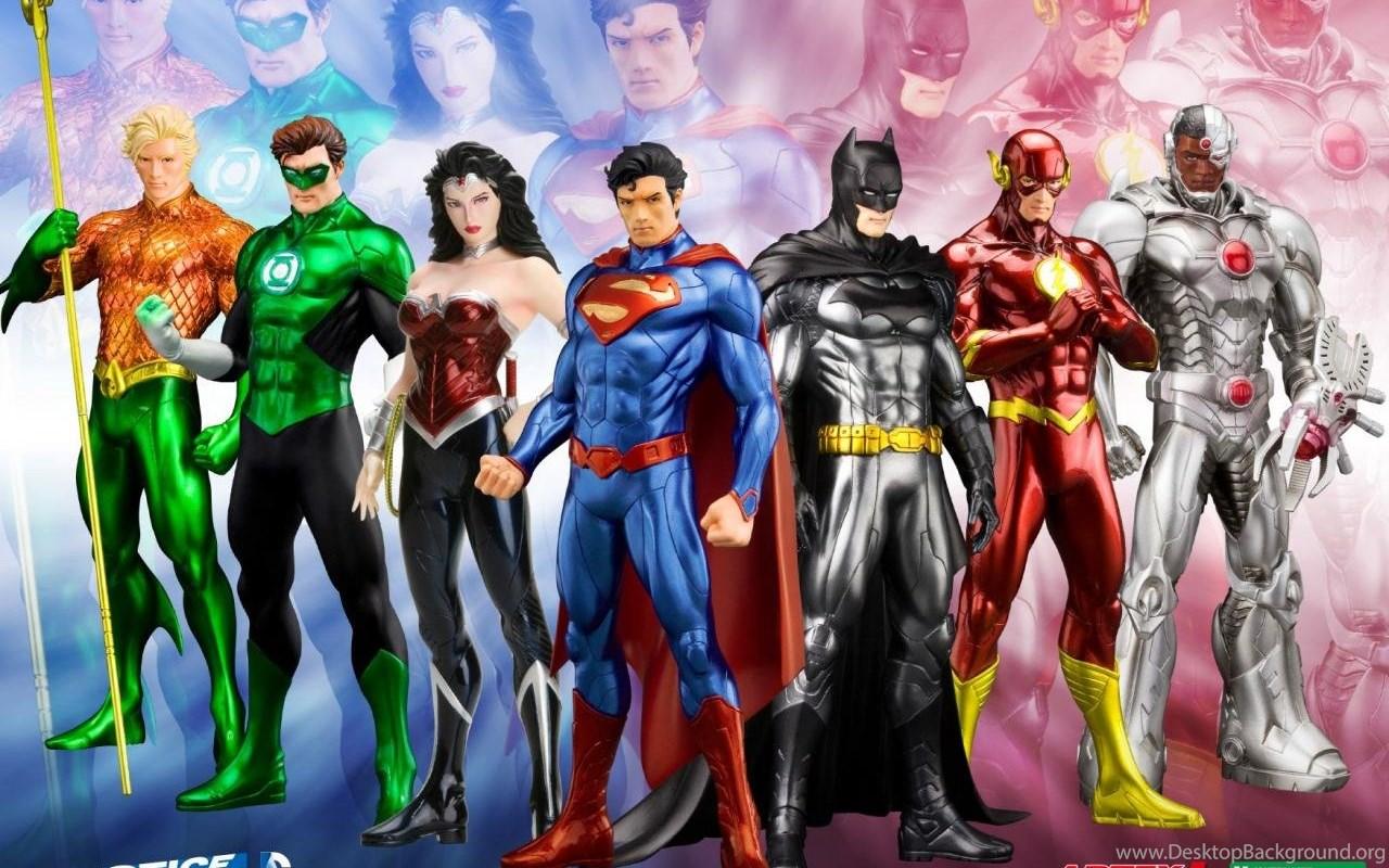 Justice League New 52 Wallpapers Desktop Background