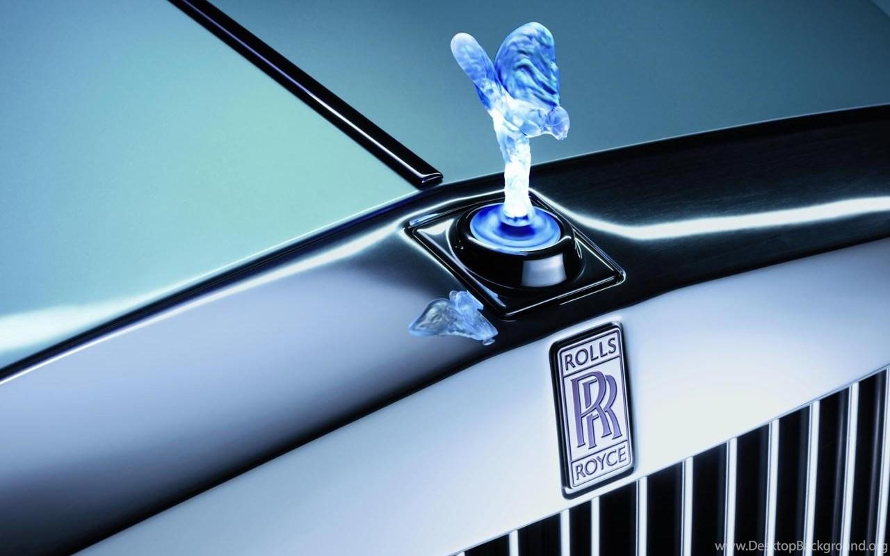 Rolls Royce Logo Desktop Background
