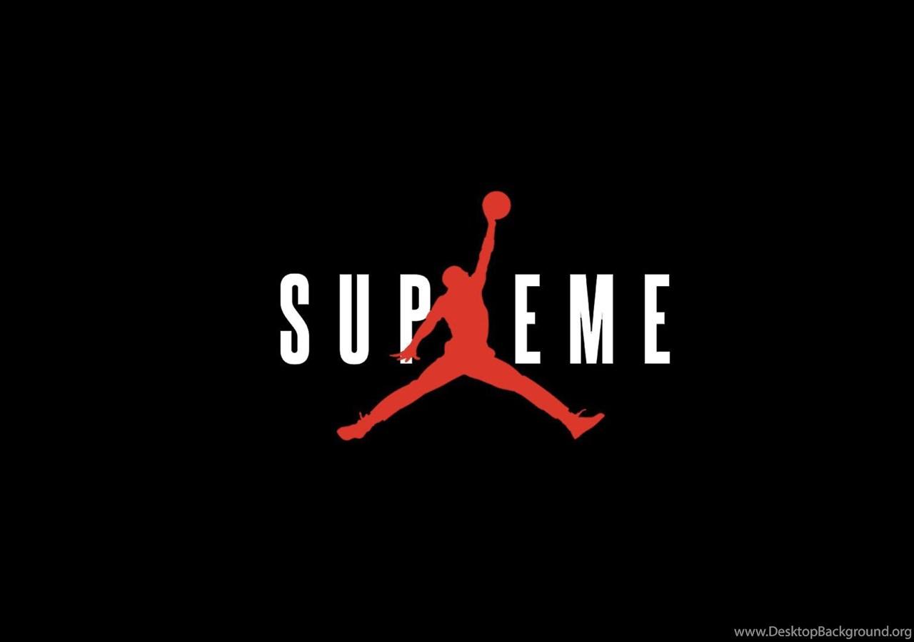 Fondos De Pantalla Supreme: Supreme X Jordan Wallpapers : Streetwear Desktop Background