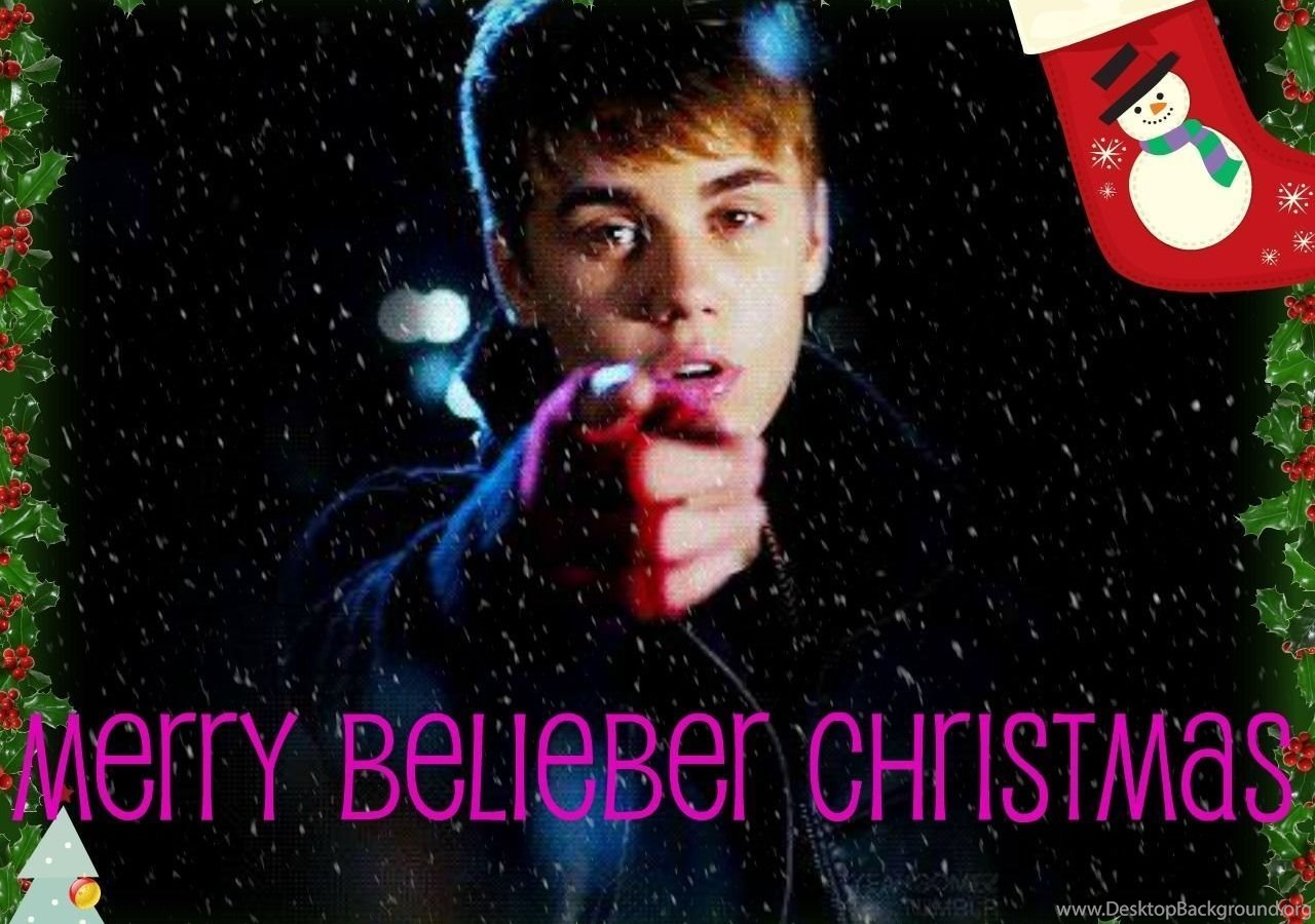 X Mas JB Justin Bieber Wallpapers (26158773) Fanpop Desktop Background