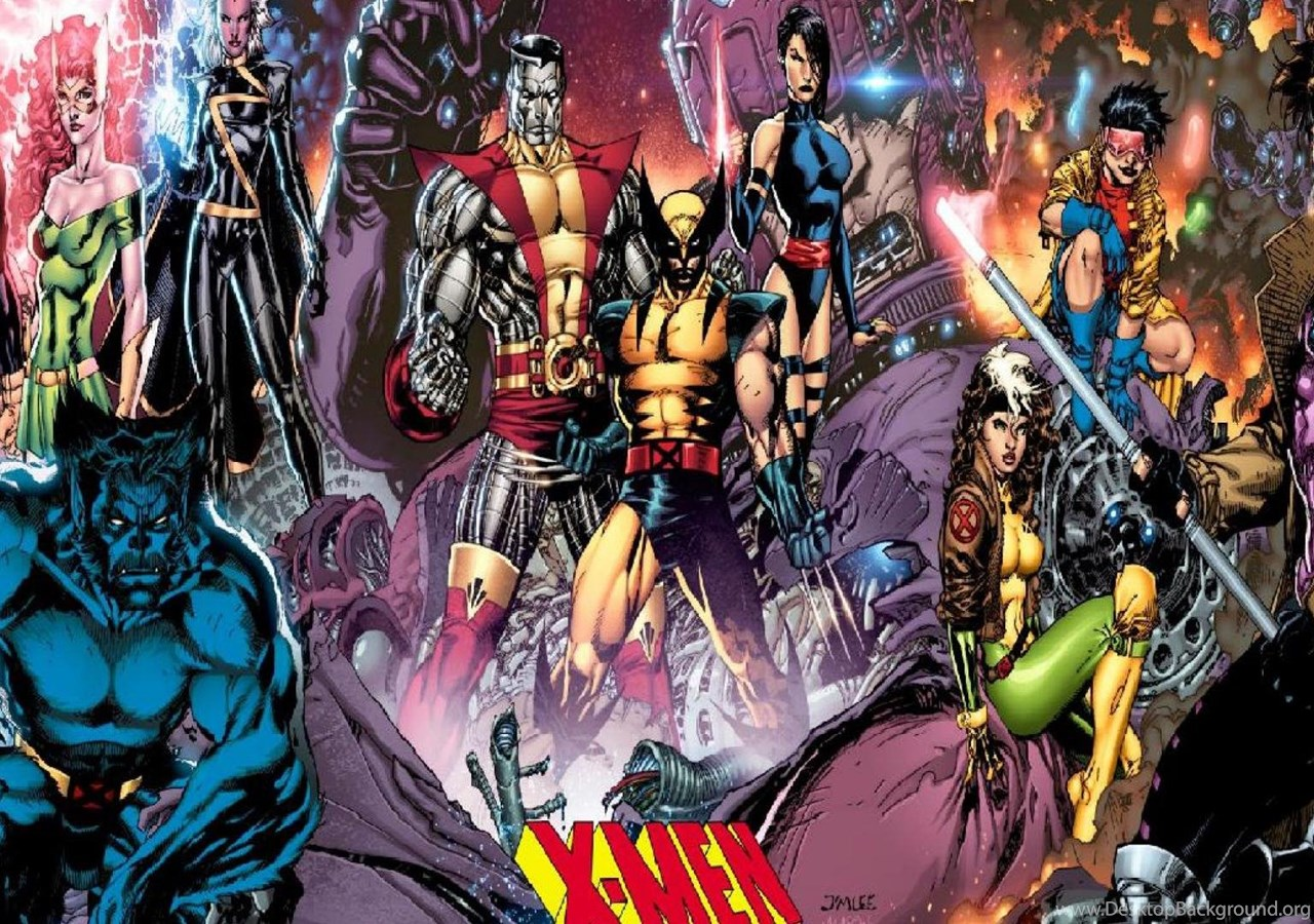Uncanny X Men ( Desktop Background
