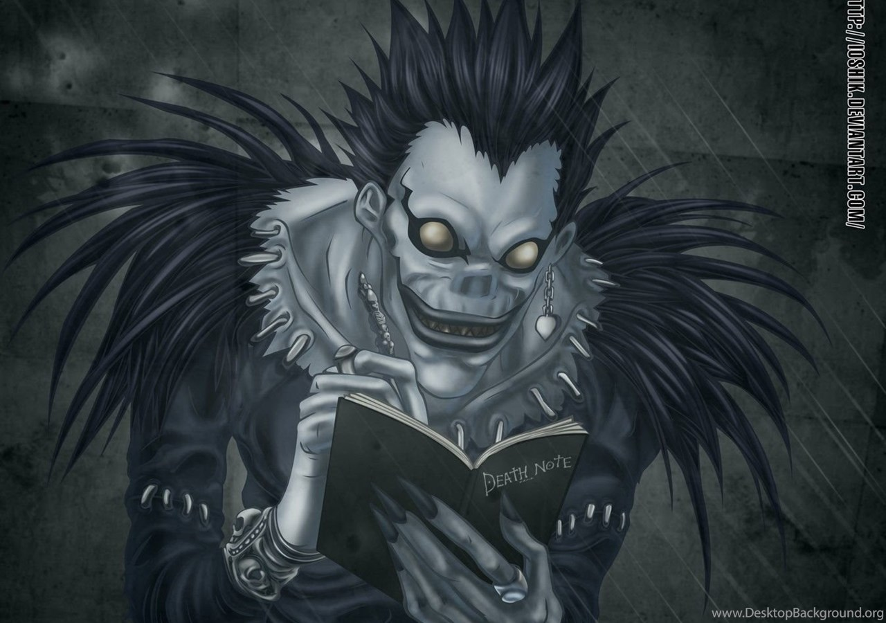 light and ryuk wallpaper - photo #21
