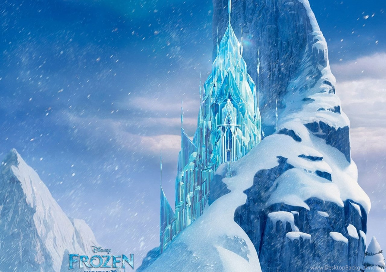 Icecastle Disney Frozen Movie Hd Wallpapers Desktop Background