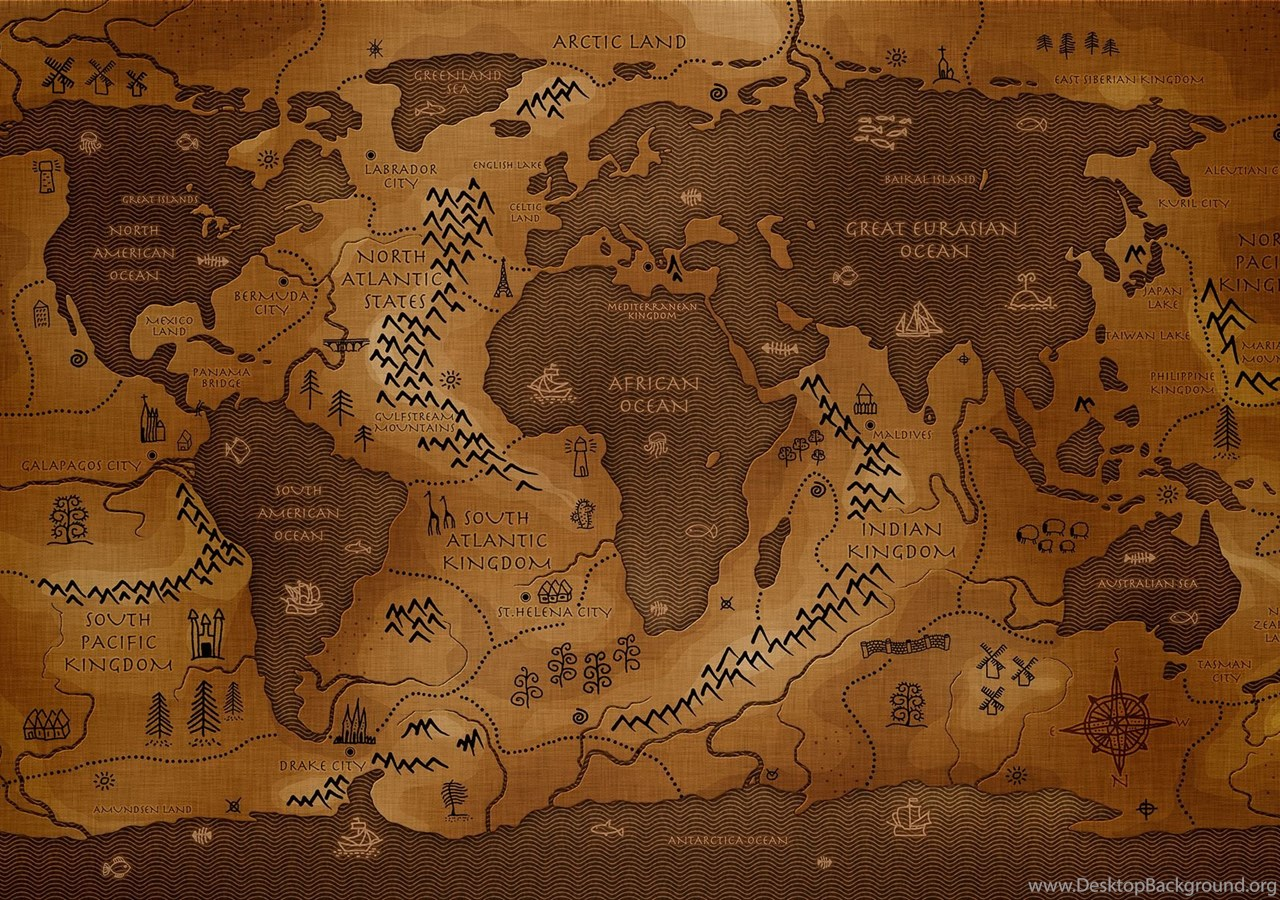 Download free antique style world map computer pictures wallpapers popular publicscrutiny Choice Image